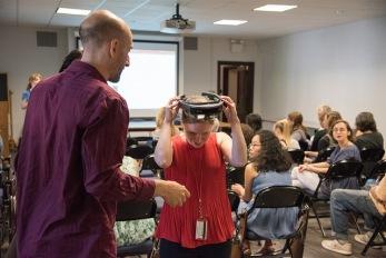 Penn Museum hosts PennImmersive HoloLens demo