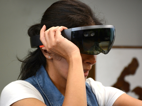 Trying HoloLens in Classical Studies