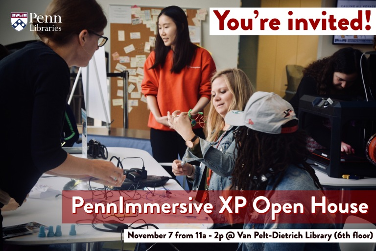 Invite to XP Open House